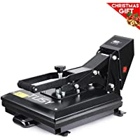 "Heat Press - TUSY Digital Heat Transfer Sublimation 15"" x 15"", Industrial Quality Heat Press Machine for T Shirts"
