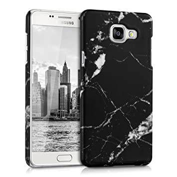 kwmobile Funda para Samsung Galaxy A5 (2016) - Carcasa Trasera Protectora para móvil - Cover Duro con diseño de mármol clásico