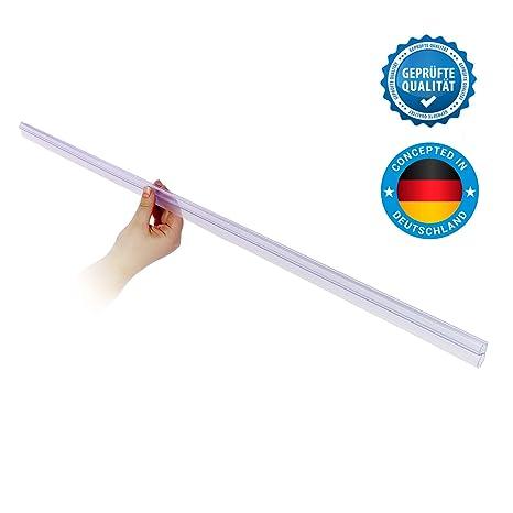 100cm Profi Dichtung für die Duschkabine – Für die Glasdicke 6mm, 7mm & 8mm – Duschleiste/Duschdichtung für den Spritzschutz