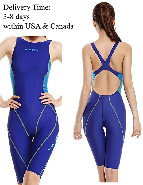 b71d42b297b52 Image Unavailable. Image not available for. Color: YingFa One Piece Racing  Swimsuit ...