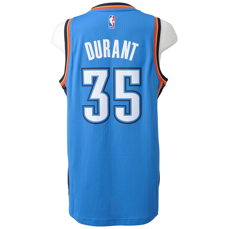 38e87fea6 adidas Oklahoma City Thunder Swingman men s basketball jersey   Amazon.co.uk  Sports   Outdoors