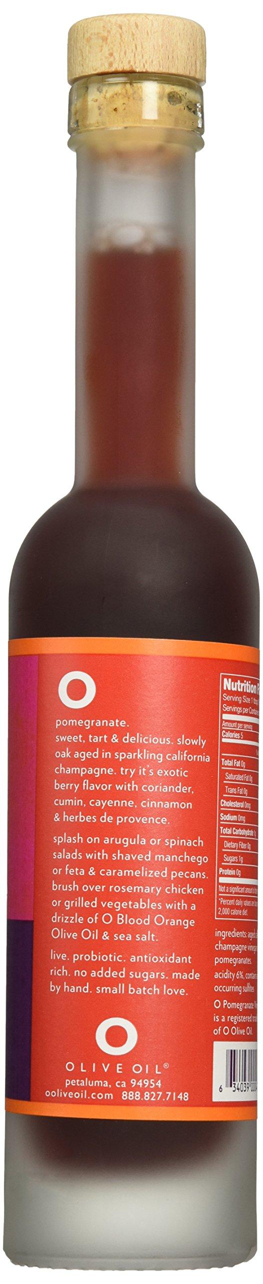 O OLIVE OIL & VINEGAR Pomegranate Champagne Wine Vinegar, 6.8 Fluid Ounce by O OLIVE OIL & VINEGAR (Image #5)