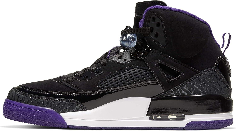 Jordan 4 Black Court Purple Anthracite White