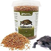 BPS Alimento Comida Gammarus para Tortugas Turtle Terrapin Food 5 Diferentes Modelos para Elegir (Gammarus Alimento 120…