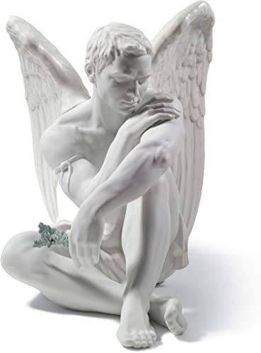 LLADR Protective Angel Figurine. Porcelain Angel Figure.