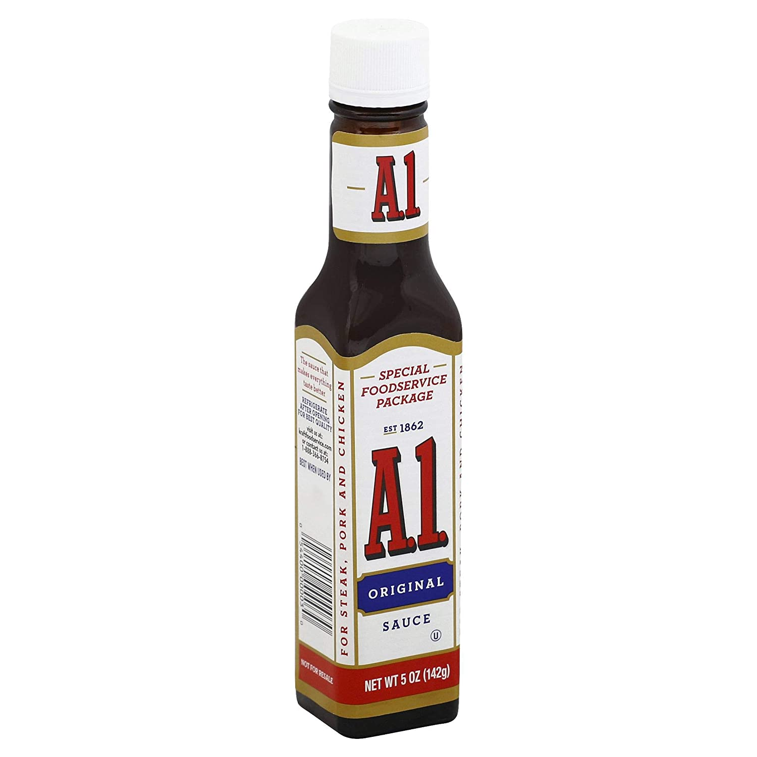 Amazon Com A 1 Original Steak Sauce 5 Oz Bottles Pack Of 24 Gourmet Sauces Grocery Gourmet Food