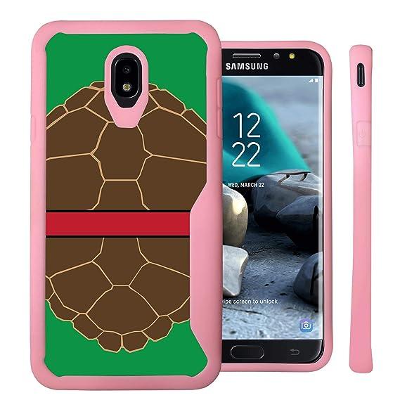 Untouchble Case for Samsung Galaxy J7 2018, J7 Crown, J7 Aura, J7 Refine,  J7 Eon, J7 Aura [Gummy Bumper] Shock Bumper Gel Case with Hard Back Plating