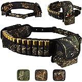 BRONZEDOG Shotshell Bandolier Waterproof Shotgun Shell Holder Adjustable Nylon Belt Case Hunting Accessories 12 16 Gauge