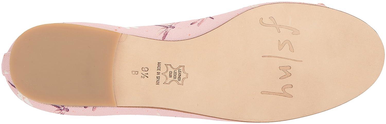 French Sole FS/NY Women's Bonfire Ballet Flat B0765KJYRH 7 B(M) US|Pink