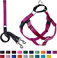 2 Hounds Design PK 58MD RASP Freedom No-Pull Dog Harness with Leash, (5/8