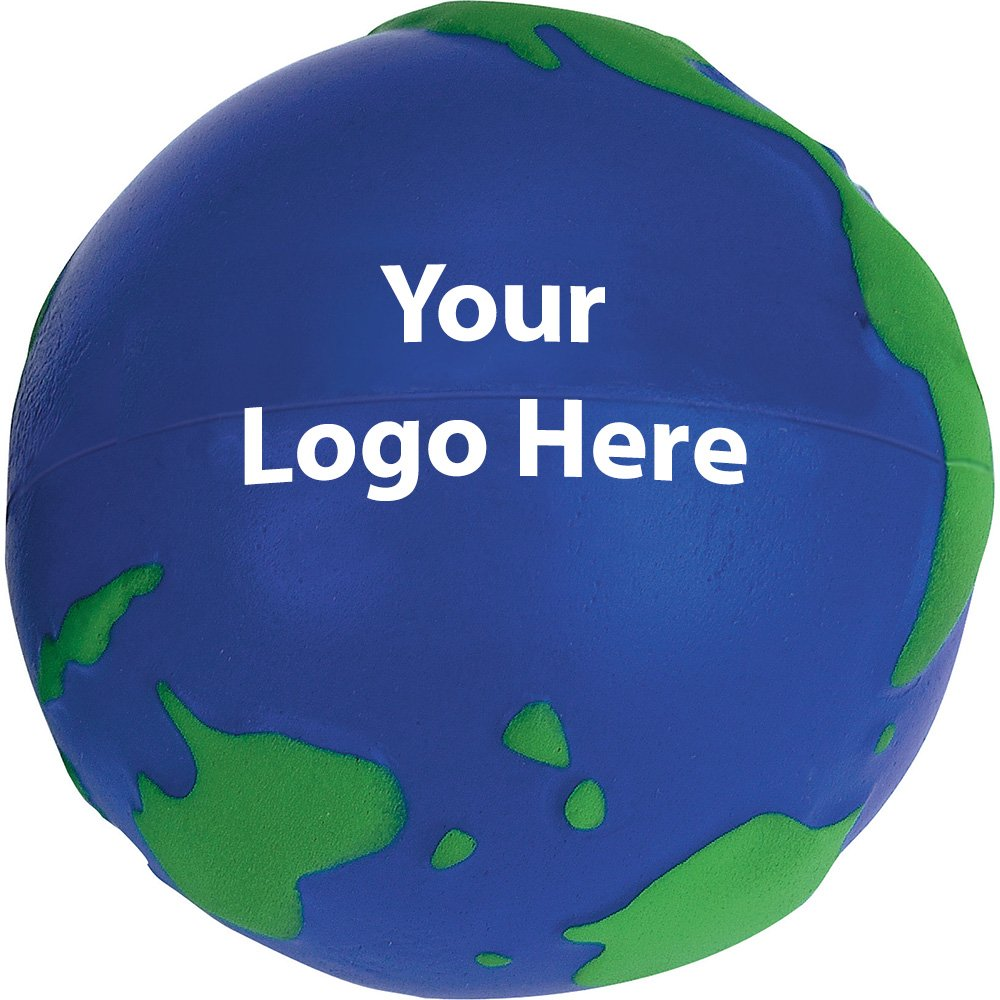 World Stress Reliever - 300 Quantity - $1.15 Each - PROMOTIONAL PRODUCT / BULK / BRANDED with YOUR LOGO / CUSTOMIZED