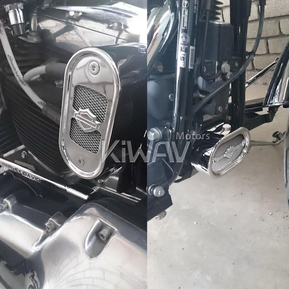 Motorcycle Silver Universal 20x33cm Aluminum Diamond Mesh Grill Fairing insert