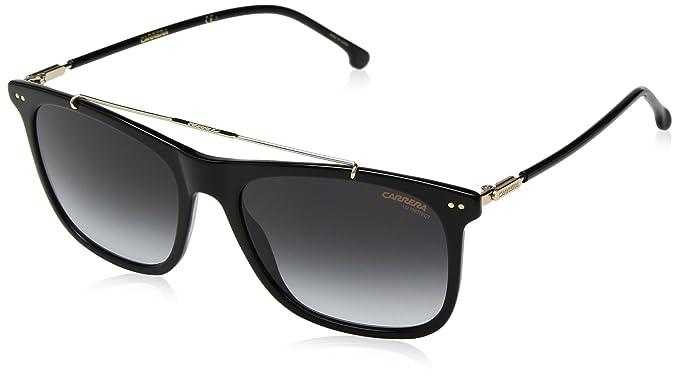 7f09320538e73 Amazon.com  Carrera Men s 150 s Rectangular Sunglasses BLACK 55 mm ...