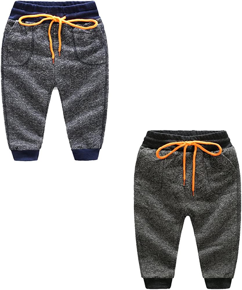 YuanDian Niño Otoño Casual Pantalon Jogging Chandal Deportivos ...
