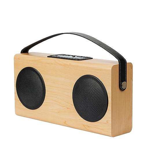 2 opinioni per Altoparlante Bluetooth Stile Classico Speaker Stereo Bluetooth Dual Driver