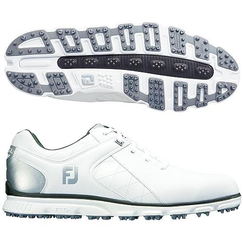 c1d0a0f0884176 FootJoy Pro SL Golf Shoes - 53579 WHITE/SILVER - 7 MEDIUM