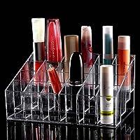 TRIXES Organizador Maquillaje claro 24 maquillaje lápiz labial