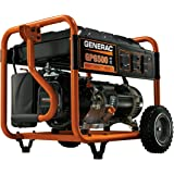 Generac 5940 GP6500 6500 Running Watts/8000 Starting Watts Gas Powered Portable Generator