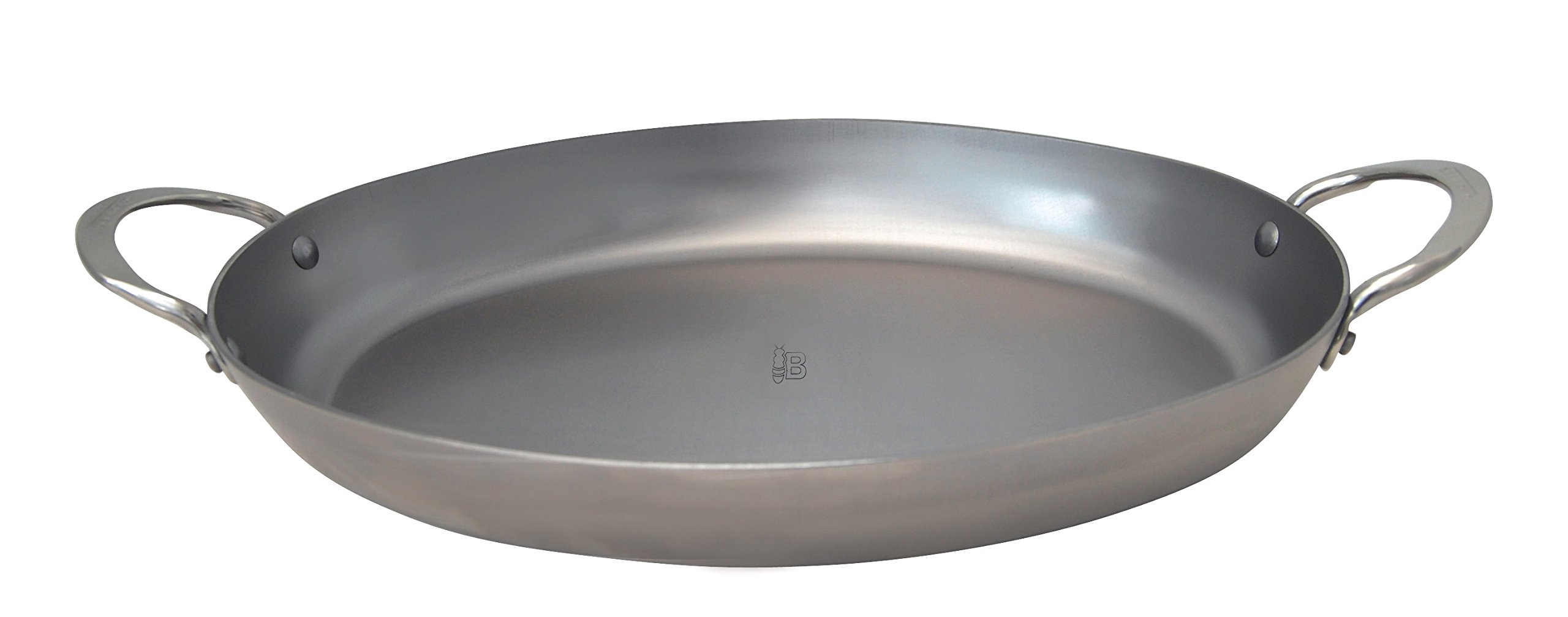 Mineral B Element 9.5'' Oval Steel Roasting Pan