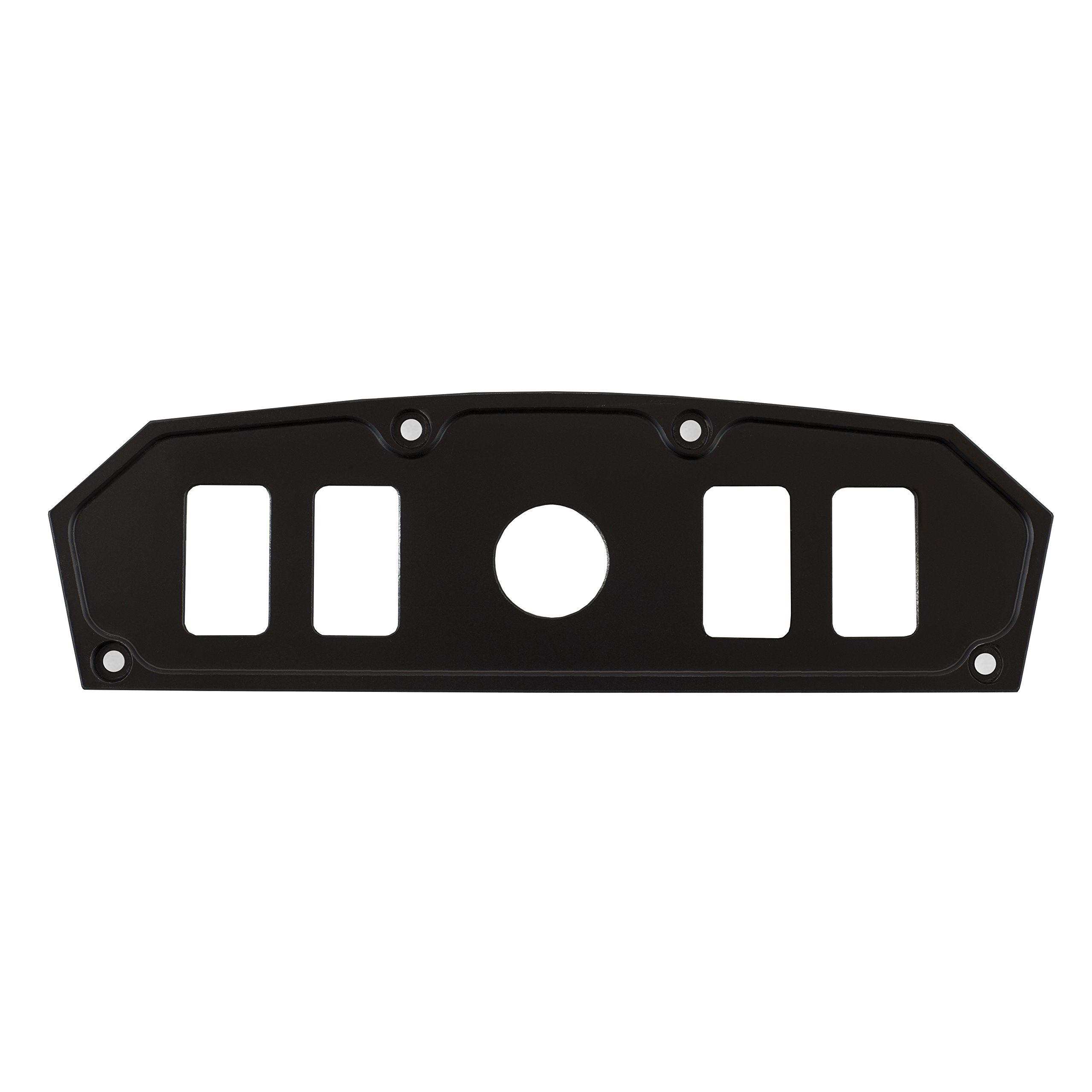 STV Motorsports Custom Switch Dash Panel for Can Am Maverick (no switches included) (4, Black)