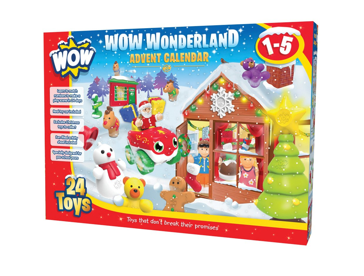 WOW Toys Wonderland Advent Calendar Kids Age 1-5 Toy