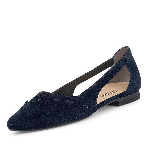 Paul Green Damen Ballerinas 2313 012 blau 386733
