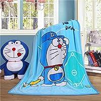 WINGSIGHT Cartoon Throw Blanket Hello Kitty Adults & Baby Cozy Plush Fleece Coral Velvet Fuzzy Blanket for Bedroom Bed…