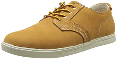 Timberland Newmarket Ftb_Ek Fulk Lp Ox, Baskets mode homme, Jaune (Wheat),