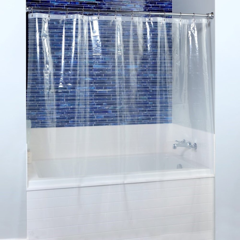 Amazon.com: Fancy-fix Shower Curtain Liner Mildew Resistant PEVA 8 ...