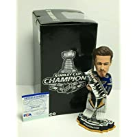 $212 » Jordan Binnington Signed St Louis Blues Stanley Cup Champs Hockey Bobblehead - PSA/DNA Certified - Autographed NHL Figurines