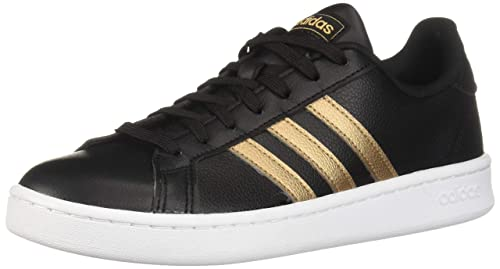 online store cf329 d1285 adidas Women s Grand Court Black Copper Metallic White 5 ...