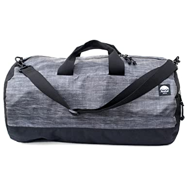 Flowfold Conductor Duffle Bag - Ultralight Travel Bag - Made in the USA -  Heather Grey 49757f60a95