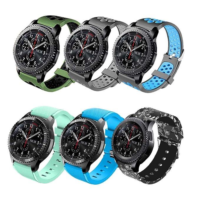Hellosy - Correa de repuesto para reloj Samsung Gear S3 ...