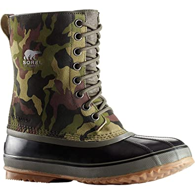 4be3d1c4264 SOREL Men s 1964 Premium¿ T Camo Alpine Tundra Black 7 D US D (