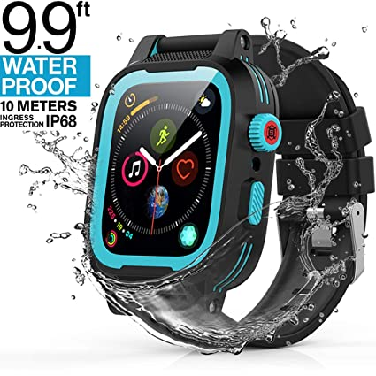 Amazon.com: Yogre - Funda impermeable para Apple Watch Serie ...