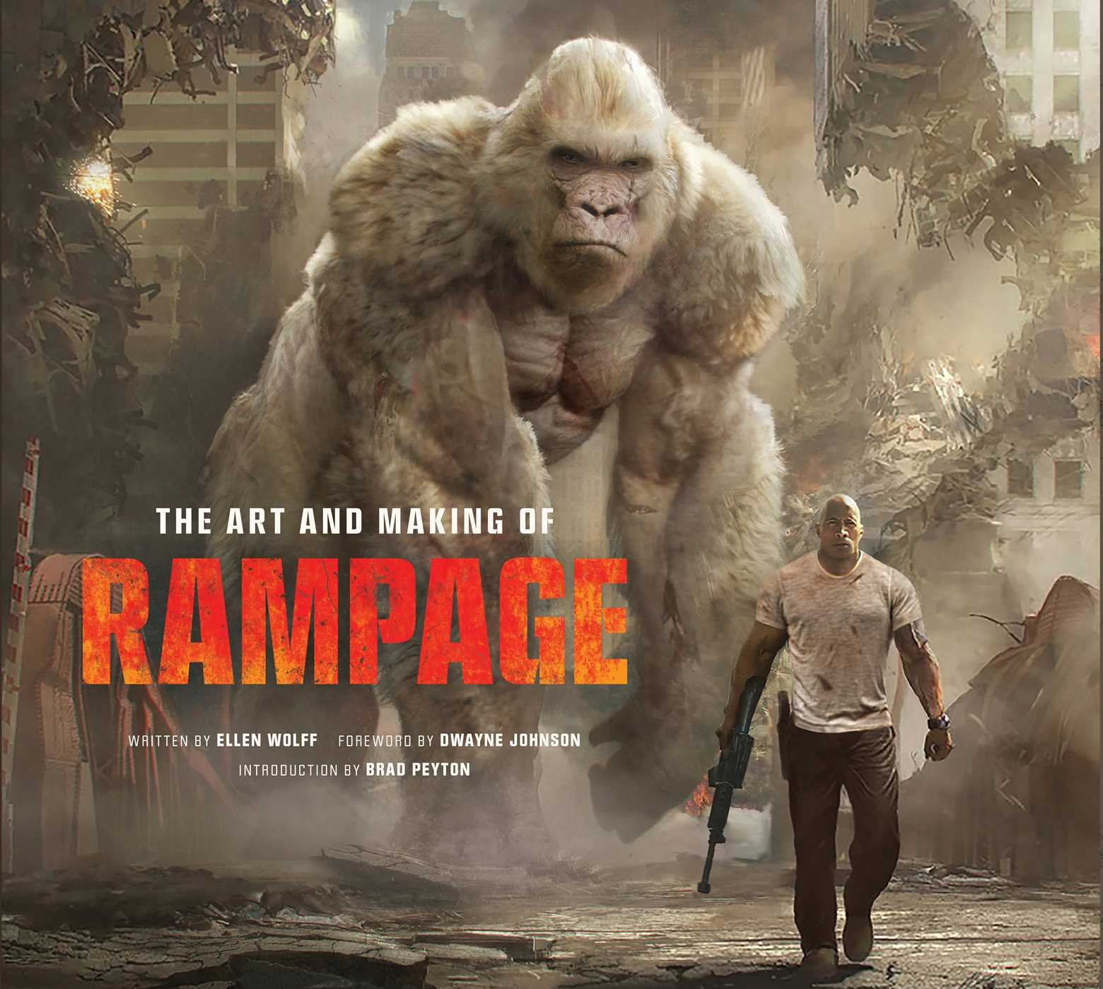 Amazon Com The Art And Making Of Rampage 9781683832102 Wolff