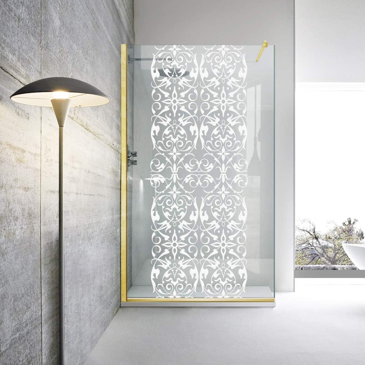 Modern Glass Art Leroy Timeless Regency Classic - Mampara de ducha (8 mm, cristal templado de seguridad, nano, acabado de latón dorado), dorado: Amazon.es: Bricolaje y herramientas