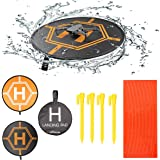 RCstyle Drones Landing Pads Universal Waterproof 31.5'' Landing pad Fast-fold Double Sided Quadcopter Landing Pads for…