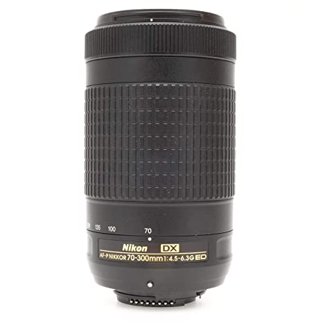 Nikon 70-300mm f/4 5-6 3G DX AF-P ED Zoom-Nikkor Lens - (Renewed)