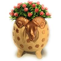 Goat Planter for Plants, Planters, Flower pots (Terracotta)