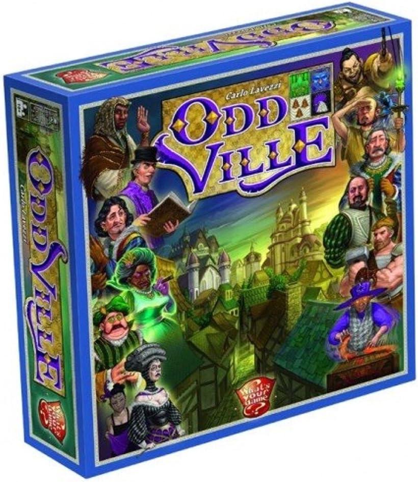 Unbekannt ¿A qué Juego? WYG00003 Oddville - Juego de Mesa: Amazon.es: Juguetes y juegos