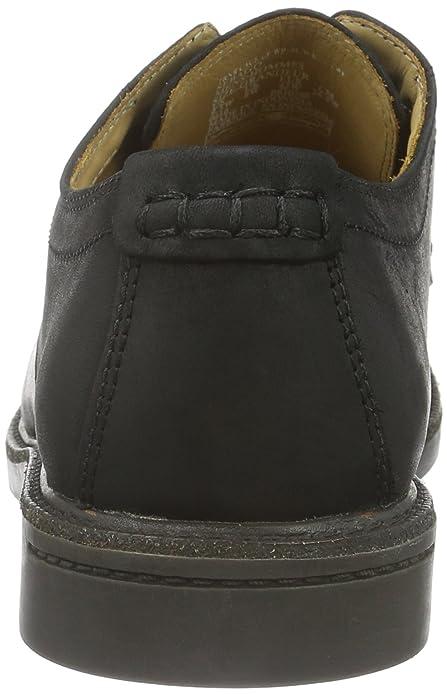 Turner Lace Up, Zapatos de Cordones Derby para Hombre, Negro (Black Leather WP), 43 EU Sebago
