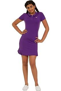 2ec0ec0b0 Bace Las niñas Morado Polo de Tenis para Mujer Plisado Vestido de Tenis  Junior Netball Vestido