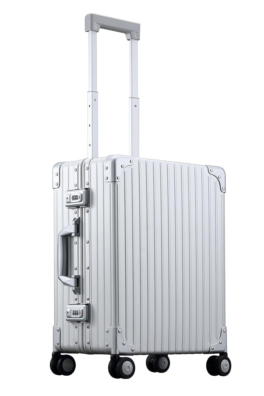 【アウトレット品】(NEO KEEPR) ネオキーパー 1年保証 TSAロック付 アルミ スーツケース クラシック キャリーケース 機内持ち込み 4輪 2輪 旅行 ビジネス B077ZPQBWZ Sサイズ(13泊向け 4輪 30L)|シルバー シルバー Sサイズ(13泊向け 4輪 30L)