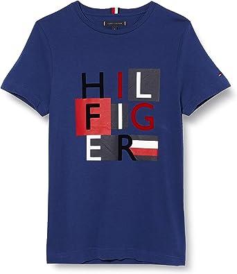 Tommy Hilfiger Hilfiger Squares Tee T-Shirt de Sport Homme