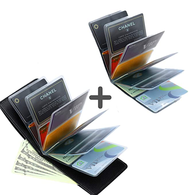0294b8692843 Image Unavailable. Image not available for. Color: Amazing RFID Security Credit  Card Holder wallet for Men or Women