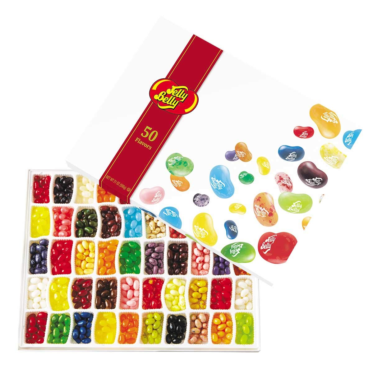 Jelly Belly Jelly Beans Gift Box, 21-Ounce by Jelly Belly