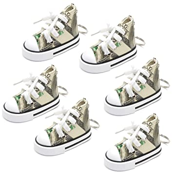 Amazon.com: favorict (6 Pack) Fancy lona Mini zapato Sneaker ...