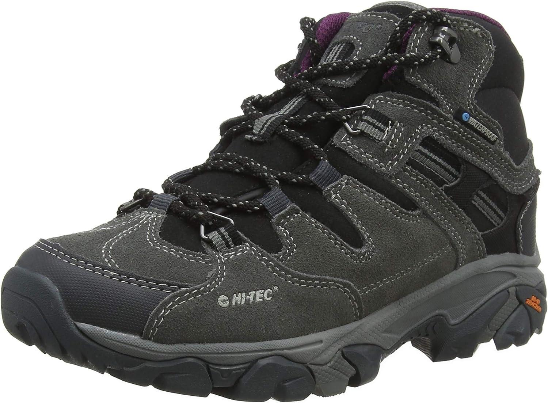 Hi-Tec Unisex Kids/' Romper Waterproof Junior High Rise Hiking Boots