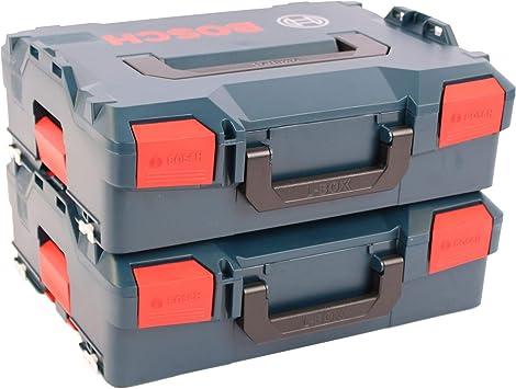 BOSCH Pack 2 Cajas apilables L-Boxx 136: Amazon.es: Bricolaje y ...